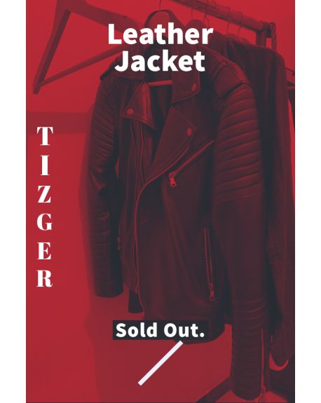 TIZGER- THE YOUNG BOY Leather Jacket