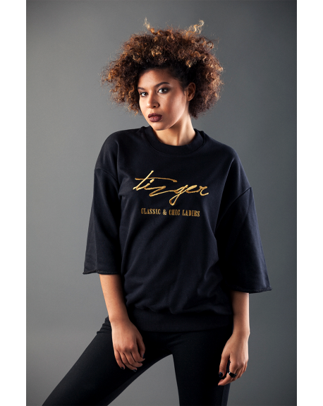 TIZGER-The Signature Sweat (Gold Broderie)