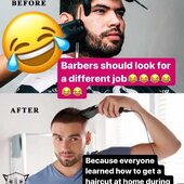 TRUE STORY 😂😂😂😂😂 . Tag your friend who learned how to get a haircut at home 🤣🤣🤣🤣🤣🤣 . . . . . . . #truestory #hairstyle #haircut #haircare #barber #barbershop #lol #lmao #usa🇺🇸 #morocco🇲🇦 #france #spain #germany #losangeles #stayathome #stayhome #staysafe #lifestyle #tizgerlifestyle #goviral #viral #viralpost #casablanca #marrakech #rabat #love #quoteoftheday