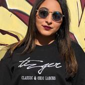 Your 3/4 Sweat-shirt of every season 🥰is here. Just dm us to order 👌  FEEL UNIQUE, FEEL THE POWER . #tizger #lifestyle #signature #sweatshirt #girlspower #girl #fashion #rabat #morocco #marrakech🇲🇦 #casablanca #chic #chicladies #summervibes #2k20 #stayhome #staysafe #feel_the_power